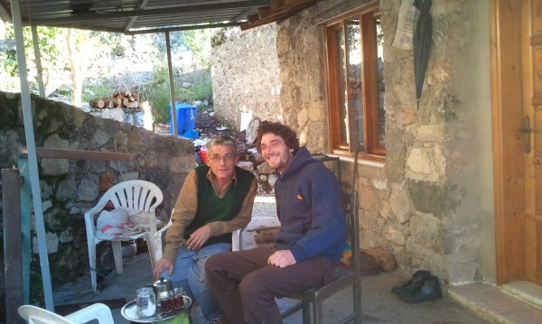 We are hosted in the ghost town by Kemal, the most kind-hearted man in the world and someone who I will not forget.