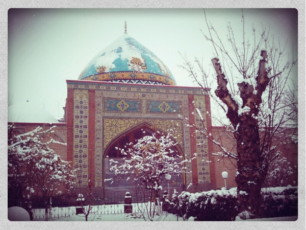 The most beautiful sight in Yerevan is actually an Iranian mosque!