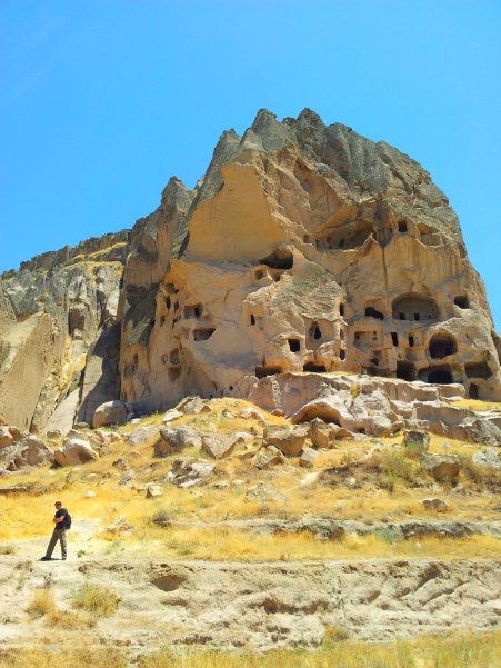 Chris in the Ihlara Valley, Cappadocia