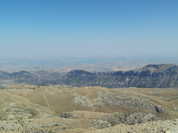 The amazing view from Nemrut