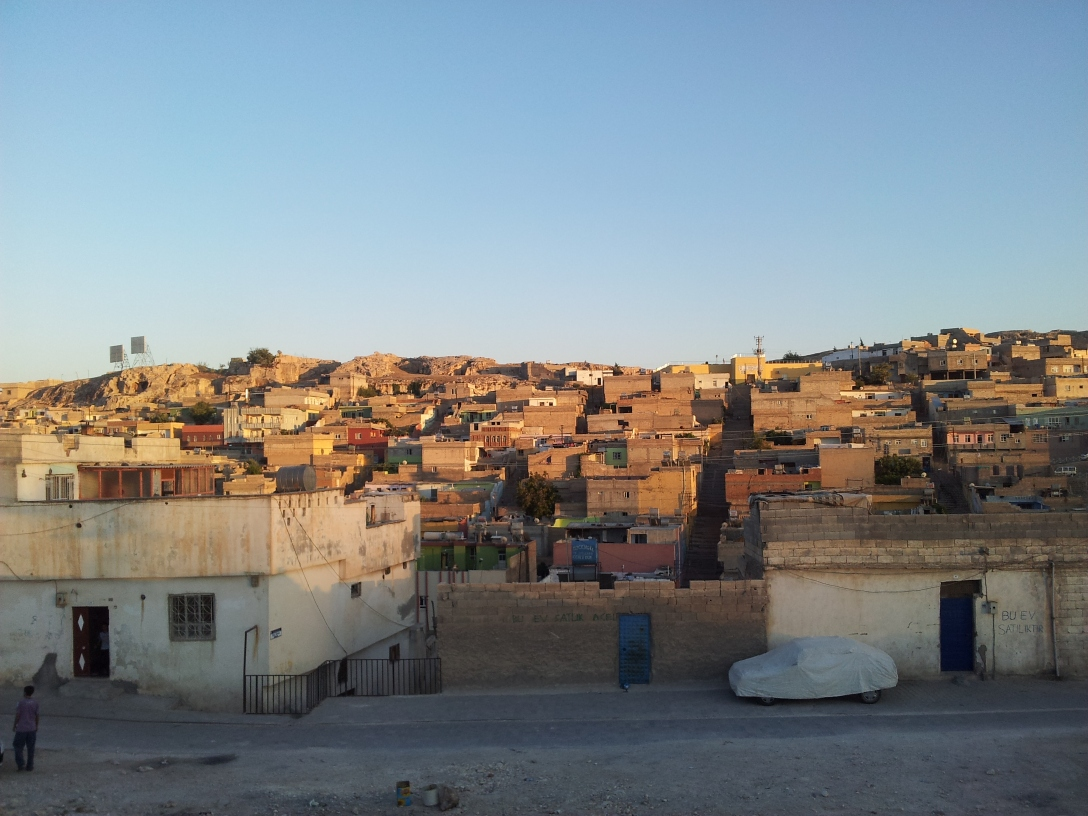 Urfa is renowned for its beautiful old centre, but I am more interested in the residential areas in the city
