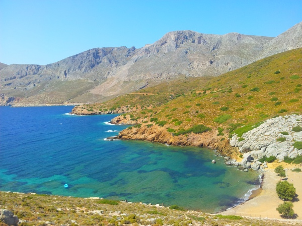 Yes, the waters of Kalymnos really are this colour!