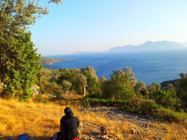Samos is the perfect place for hiking