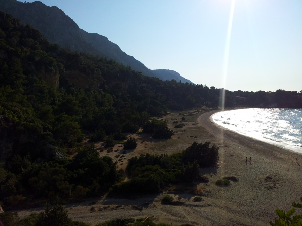 My favourite beach EVER: Megalo Seitani on Samos