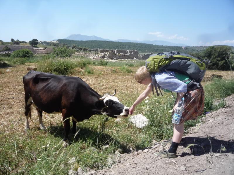 Sara in Turkey, 2011