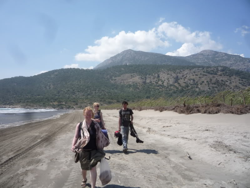 Travelling with Jo and Sara (with Ben!) in Turkey in 2011. They would meditate on in the nature every morning.