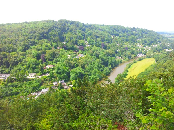 Symonds Yat in the Wye Valley