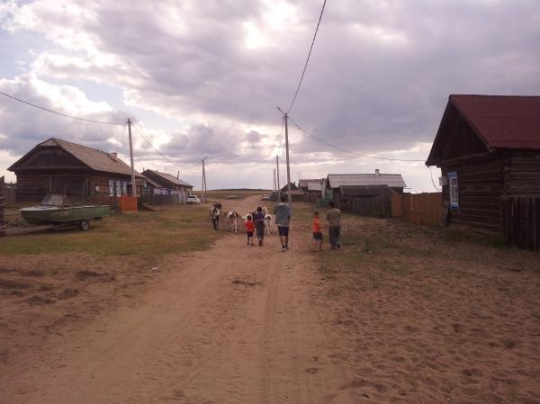 A village on Olkhon island