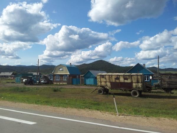 Siberia - along the east coast of Baikal