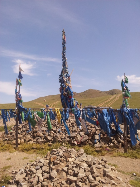Shamanic ovoo: they are found all over Mongolia