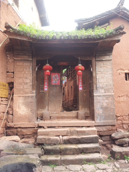 Doorway in Nuodeng