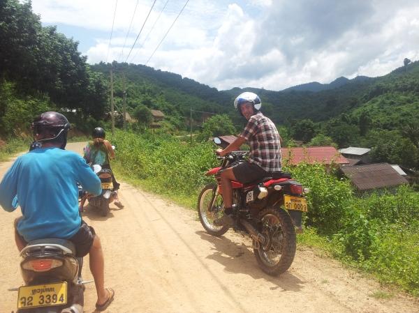 Motorbiking!