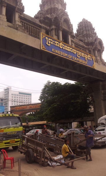 The Aranyaprathet/Poipet border