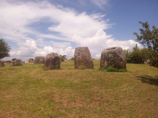 The Plain Of Jars: it's just like being in Somerset in England!