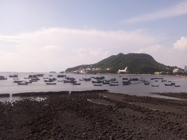 Fishing boats in Vung Tau