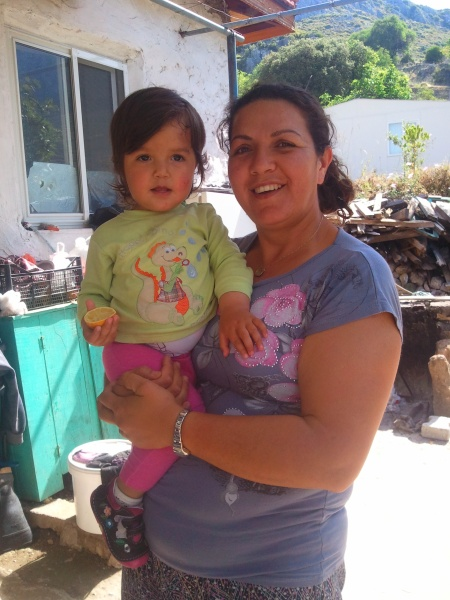 My host, the beautifully caring and wonderful Feray with her daughter