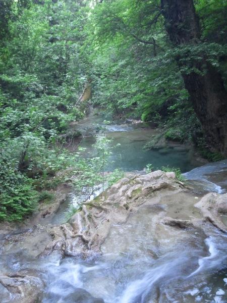 Turgut waterfall