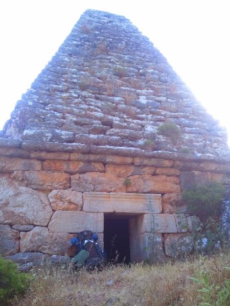 Tomb just before Turgut village