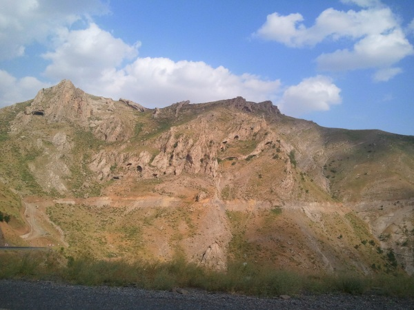 Hitchhiking through the Kurdish mountains
