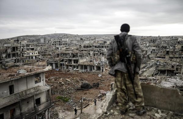 Kobane (photo taken from Crimethinc)