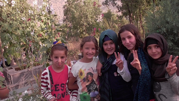 Children of Roboski at the graves of their relatives, killed by Turkey's military on 28th December 2011