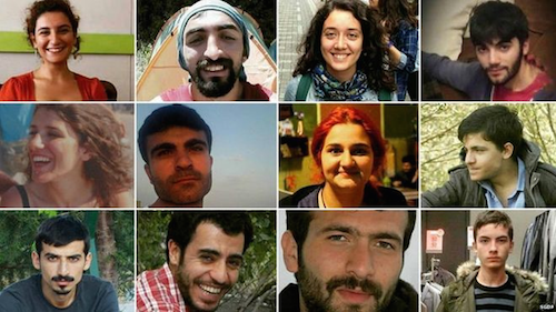Just some of our sisters and brothers killed in the Suruç bombing on July 20th.