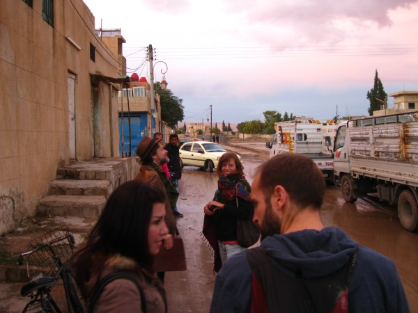 On the streets of Amûdê