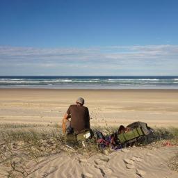 Hitchhiking & wild camping Australia's east coast